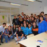 Estudiantes secundarios de la provincia visitaron los laboratorios de la Facultad