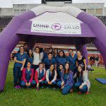Estudiantes de kinesiología asistieron a deportistas