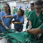 Nueva edición del curso de capacitación en cirugía laparoscópica